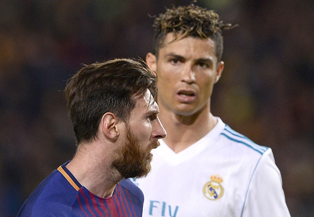 Lionel Messi and Cristiano Ronaldo (Getty Images)