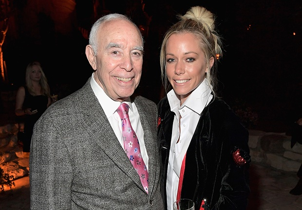 Dick Rosenzweig and Kendra Wilkinson (Photo: Getty Images)
