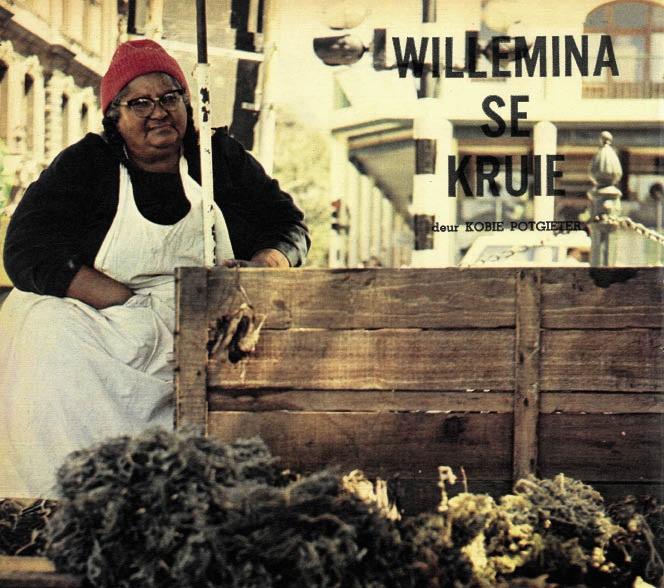 Me. Willemina McQuire, 'n legende op die Kaapse Parade.