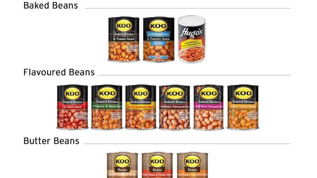 Beans, sweetcorn, peas, and spaghetti: These are the cans Koo is recalling