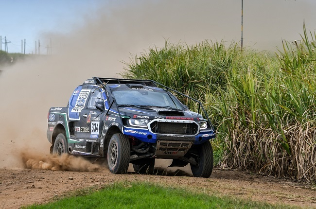 FIA-class Ford Ranger at SACCS in KZN