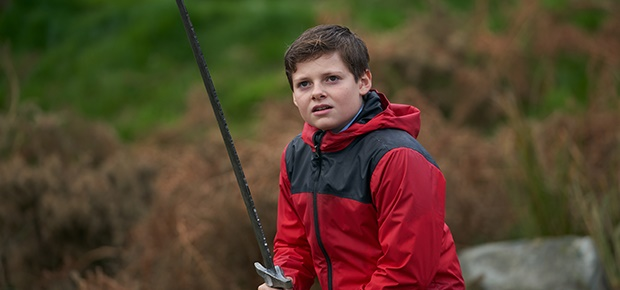 """Louis Ashbourne Serkis in """"The Kid Who Would Be Ki"""