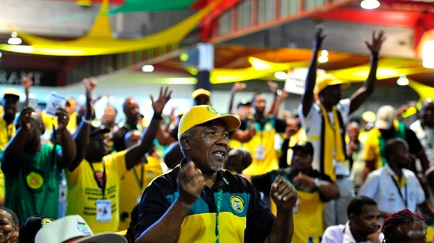 December 17.2017. The ANC national conference in N