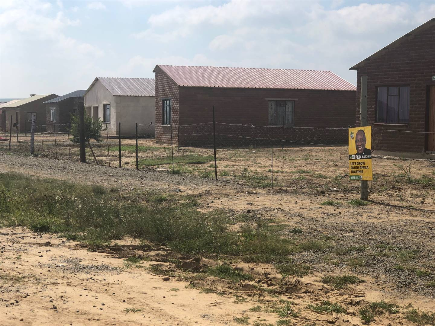 The sub-standard RDP houses in Baken Park. Picture: Juniour Khumalo/City Press
