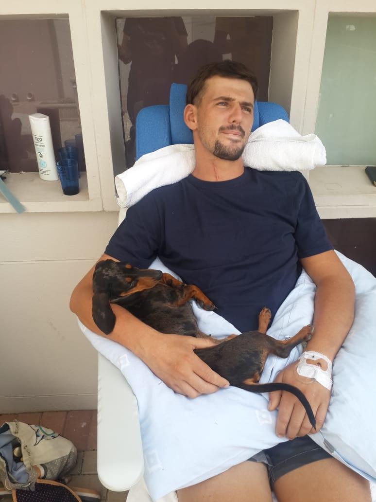 Jaco Geldenhuys ontvang nou rehabilitasie na die o