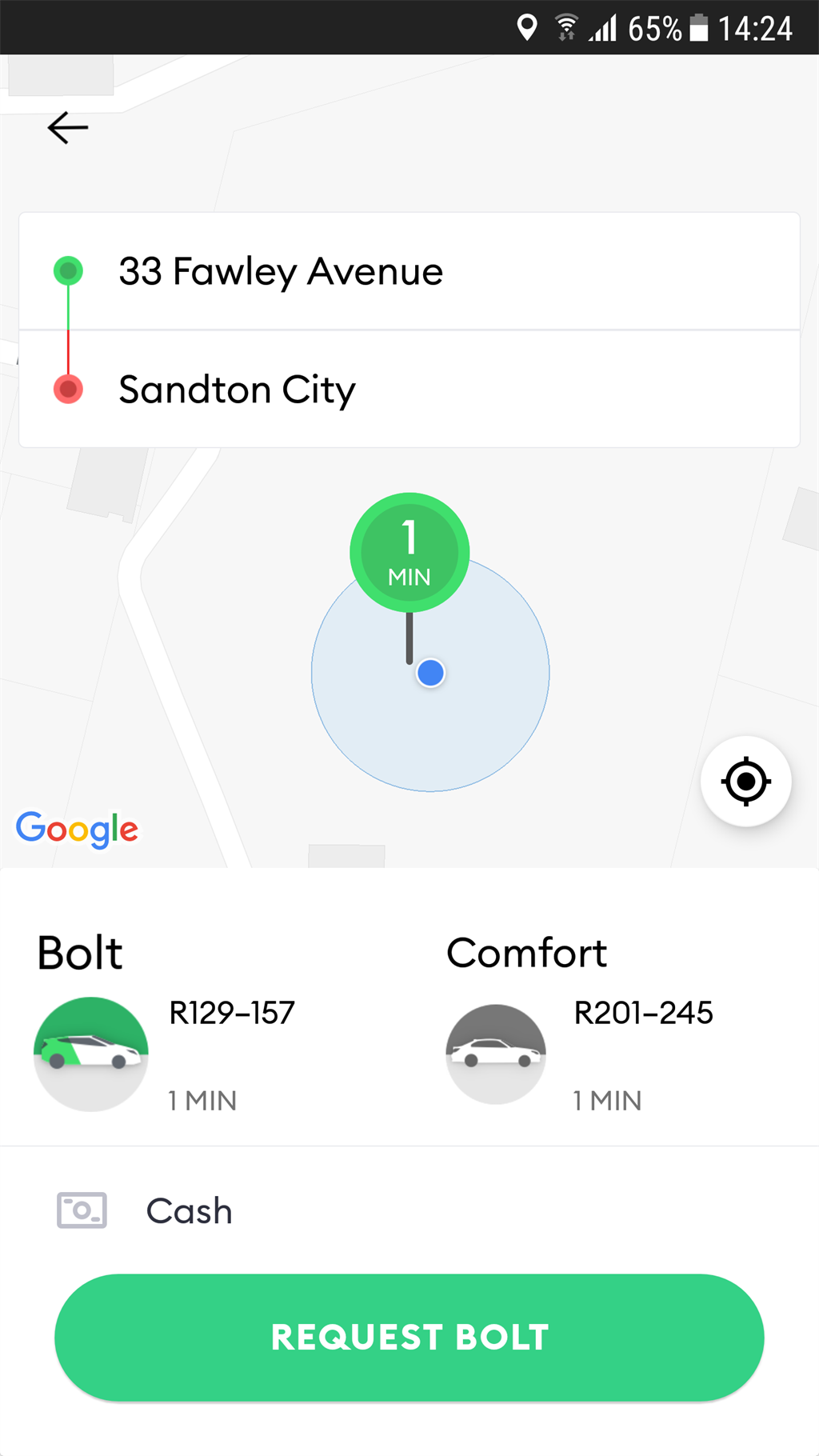 Yookoo Rider, Uber, InDriver, Taxify, Bolt