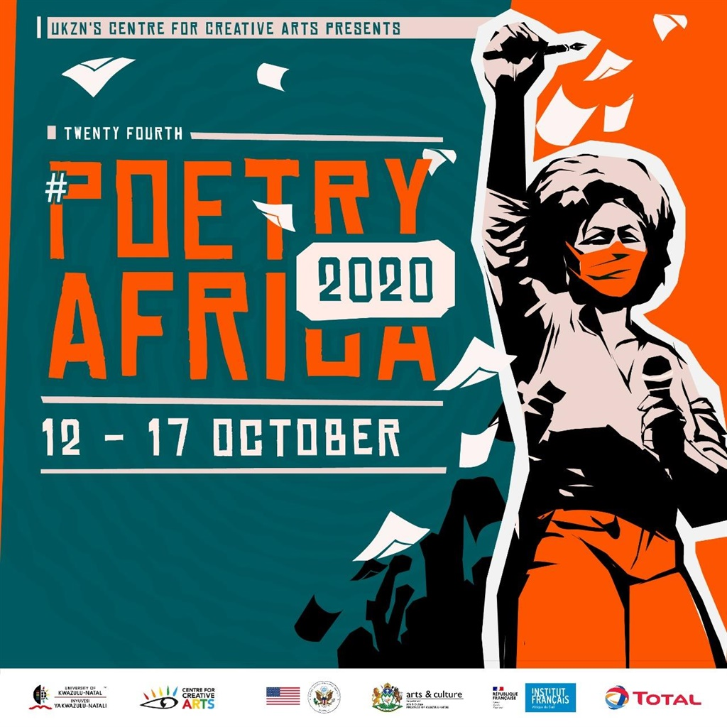 """Under the theme 'poetry as the voice of social change,"""" this year's  six day programme will be presented online over three daily slots. (Facebook/ Poetry Africa)"""