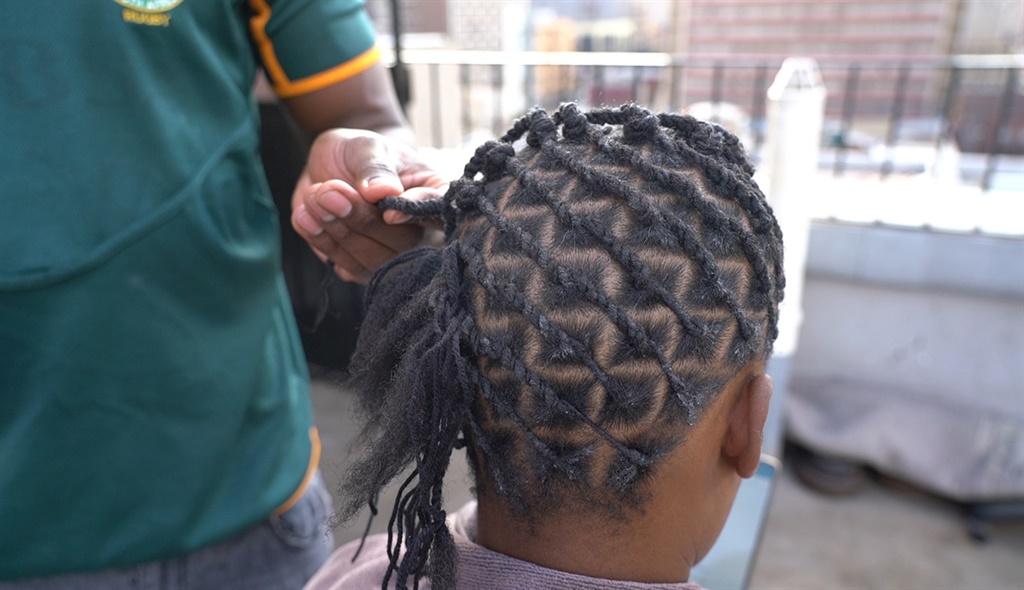 WATCH | Joburg hairdresser breaches lockdown regulations to make ends meet - News24