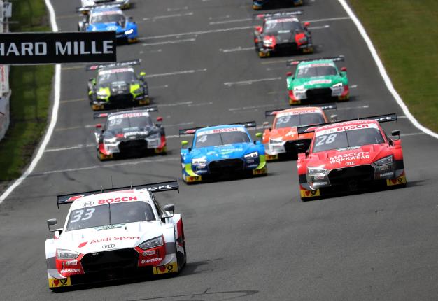 Audi DTM Brands Hatch. Image: Audi motorsport