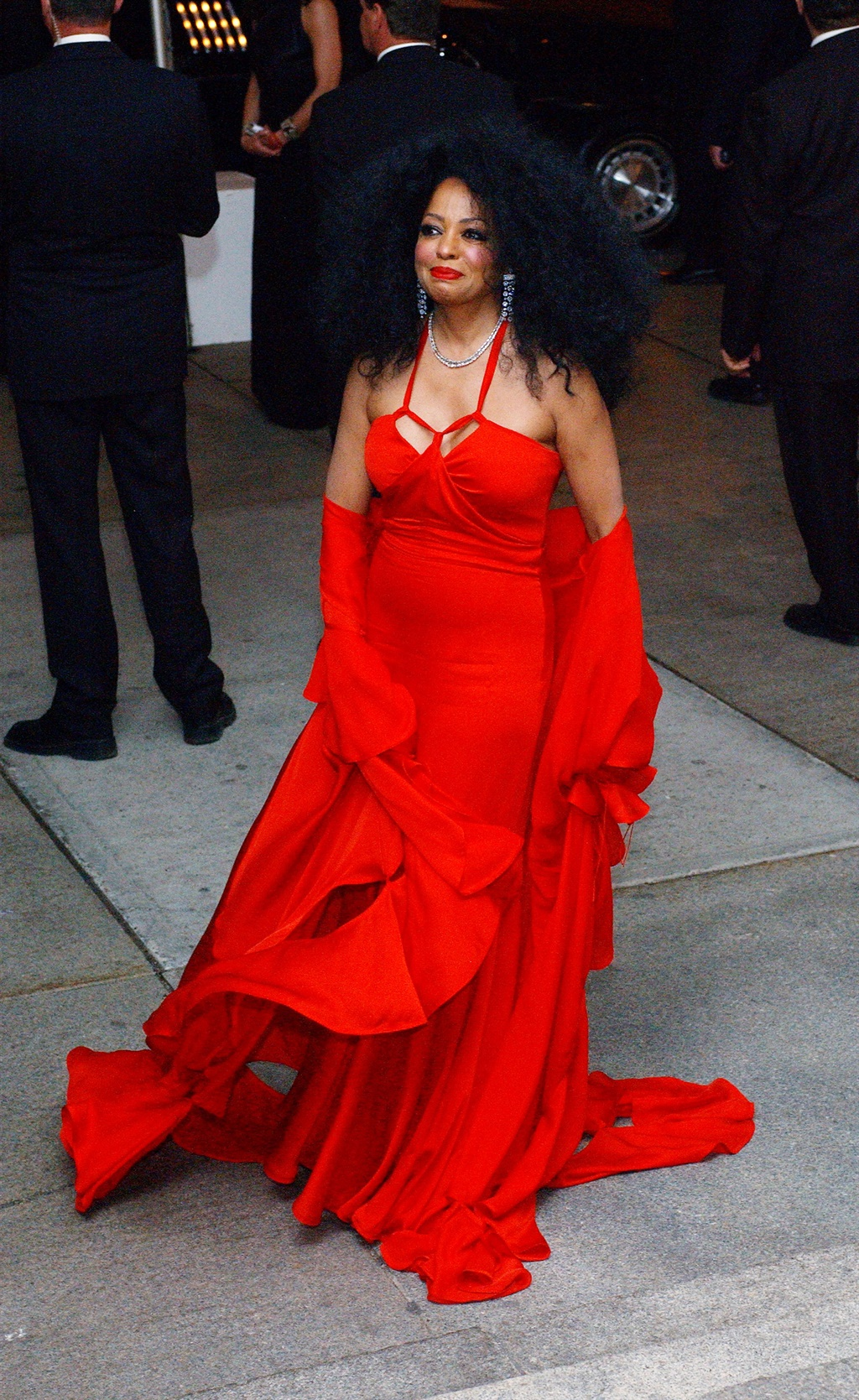Diana Ross during Costume Institute Benefit Dance: