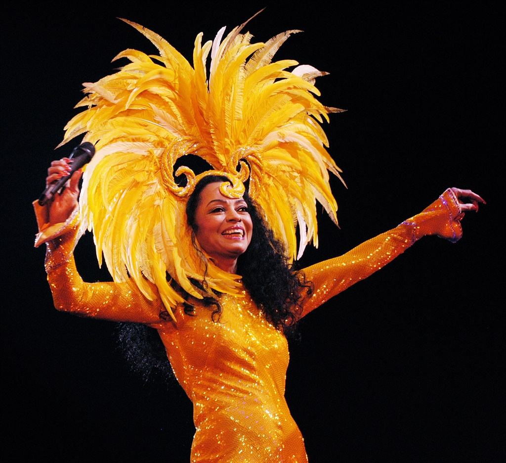 ROTTERDAM, NETHERLANDS - MARCH 3: Diana Ross perfo