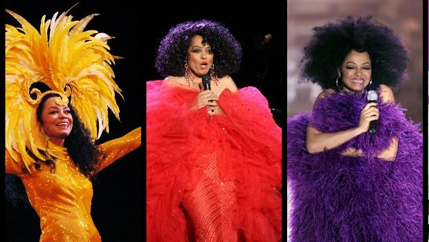 Diana Ross style over the decades