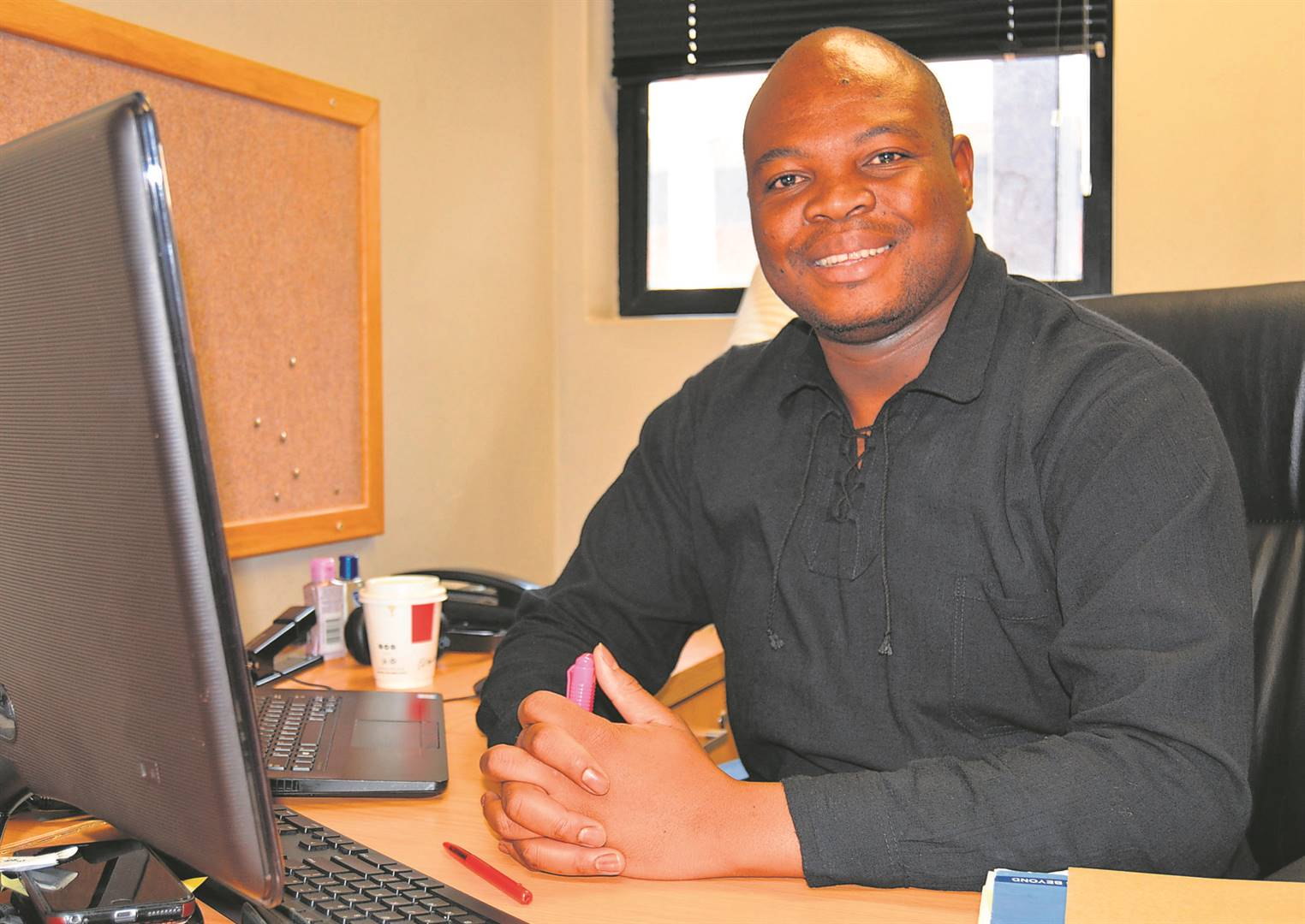 Future Professor Dr Tshepiso J Makhafola, Assistant Dean Research, Innovation HES-Future. Photo: Supplied
