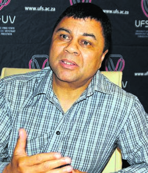 Prof. Francis Petersen, vice-chancellor and rector of the University of the Free State