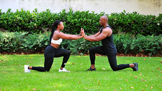 3. Embracive Lunge
