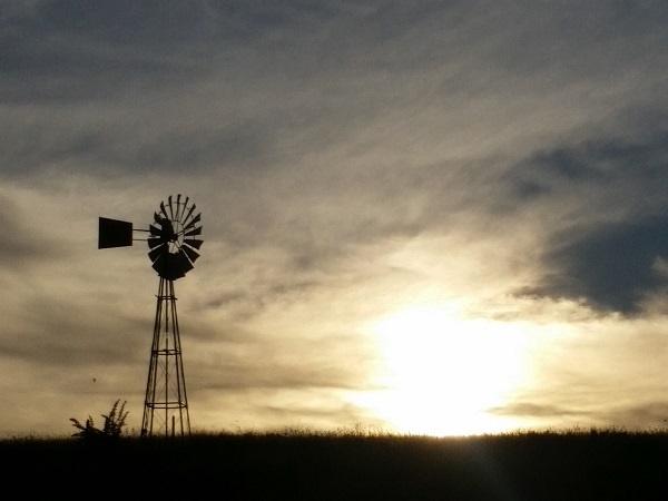 windpomp, landskap,