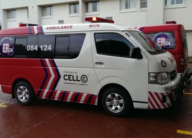 ER24 emergency vehicle. (Duncan Alfreds, News24)