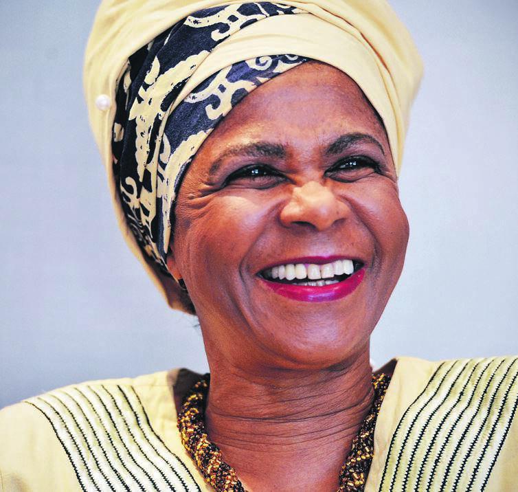 Mamphela Ramphele.