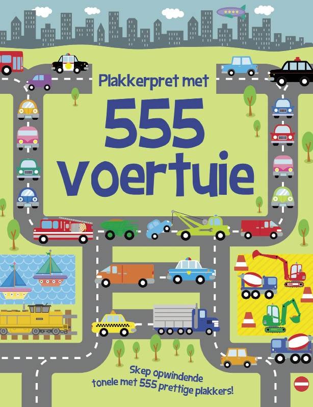 Plekkerpret Met 555 Voertuie