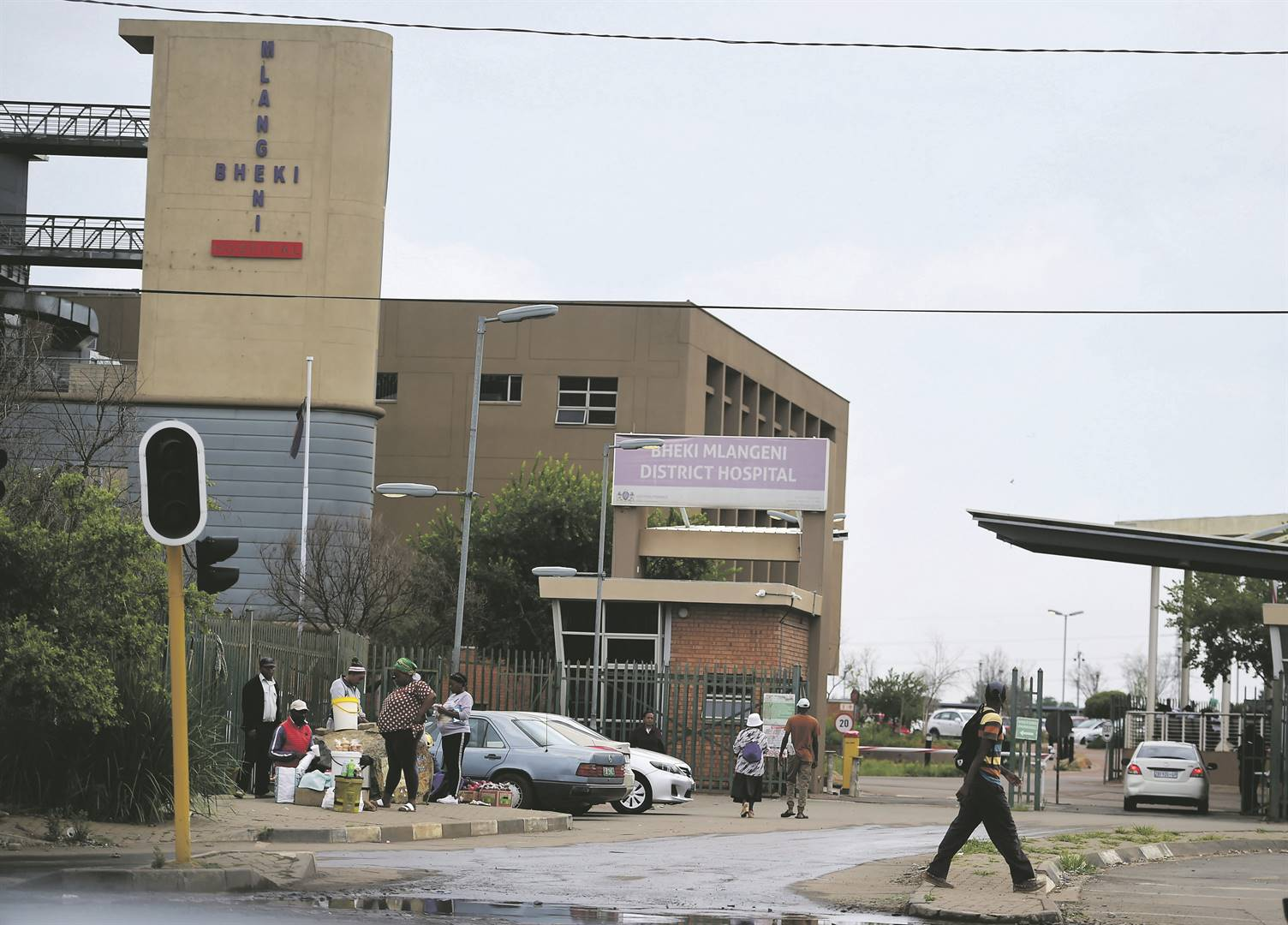 An alleged case of rape at Bheki Mlangeni District Hospital in Soweto was reported by a 16-year-old mentally ill patient this week Picture: Trevor Kunene