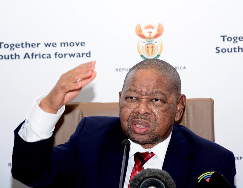 Dr. Blade Nzimande, Minister of Higher Education, Science and Technology. (Morapedi Mashashe)