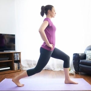 Lunges and squats good for butt