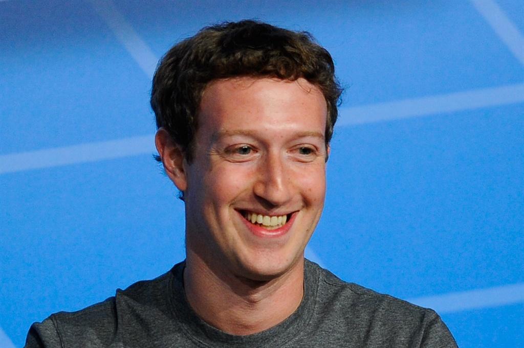 Mark Zuckerberg, die stigter van Facebook. Foto: G
