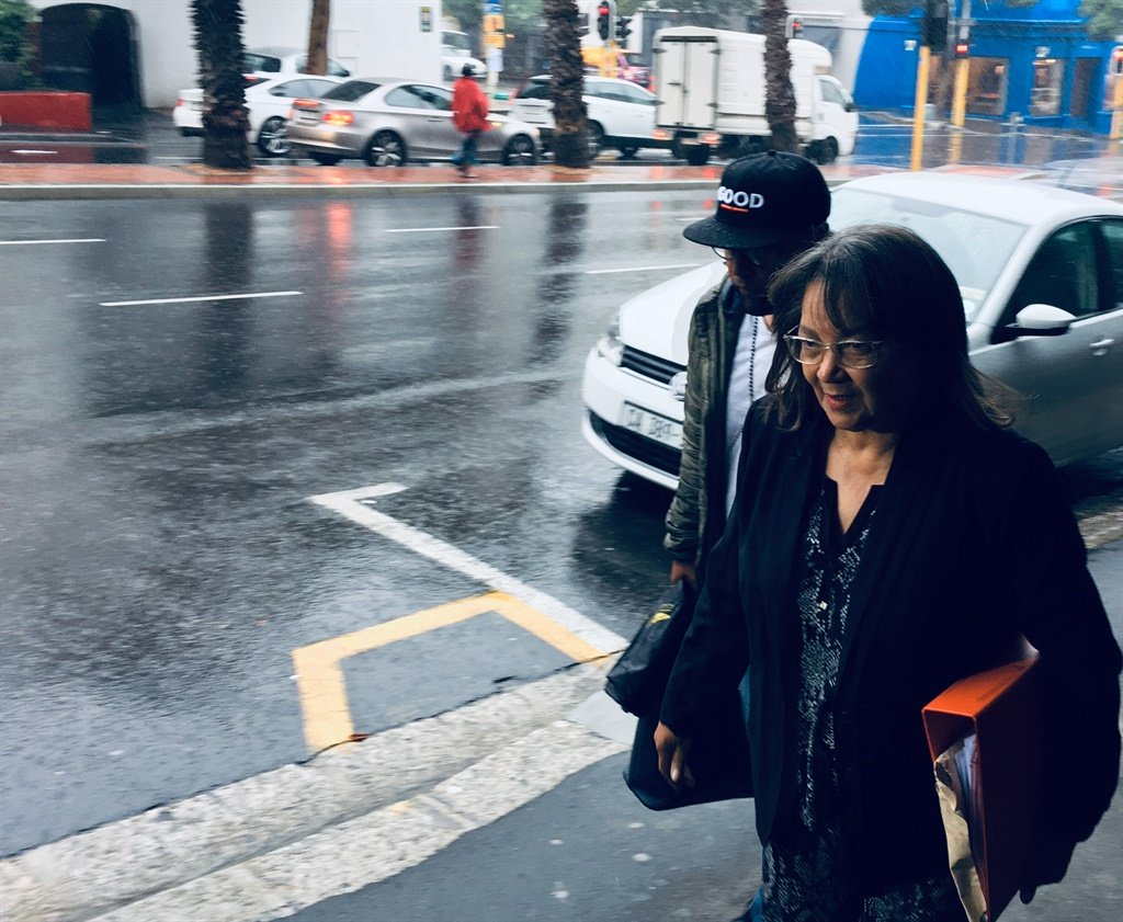 GOOD leader Patricia de Lille arrives at the Public Protector's office in Cape Town to ask her to investigate an alleged kickback-scam at the George Municipality. (Jan Gerber/News24)