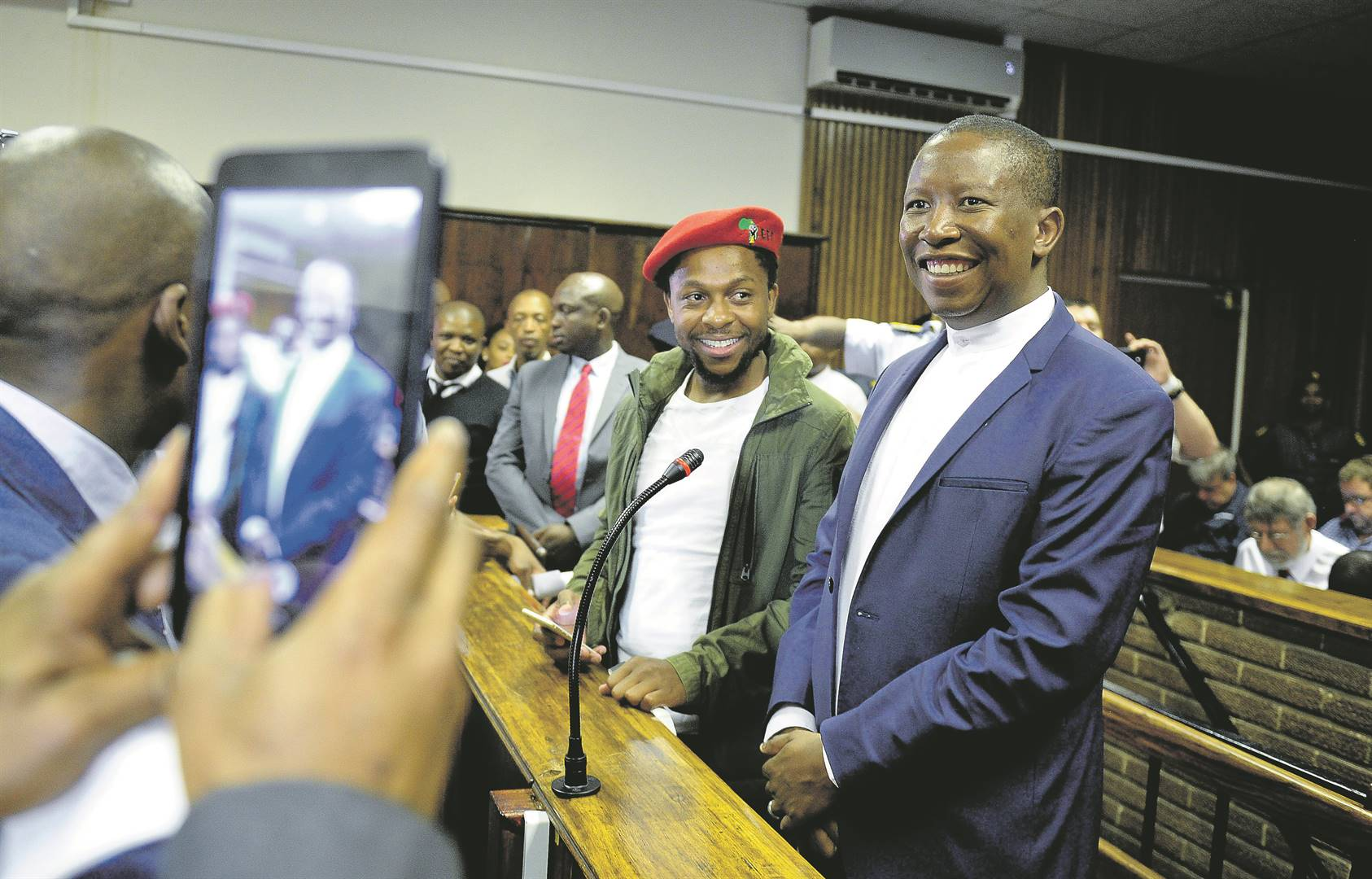 The Human Rights Commission appears not to have considered that Julius Malema is a politician with influence over his supporters. It is arguable that politicians should be subject to greater scrutiny than ordinary members of an oppressed group making the same remarks Picture: Mlungisi Louw/ NUUS SENTRAAL