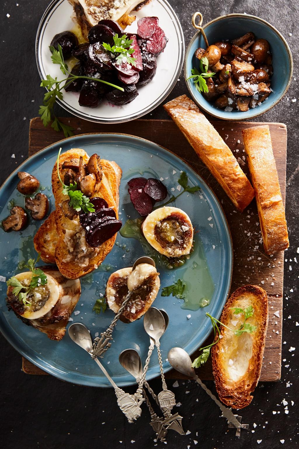 klankbord,resep,roosterbrood,sampioene
