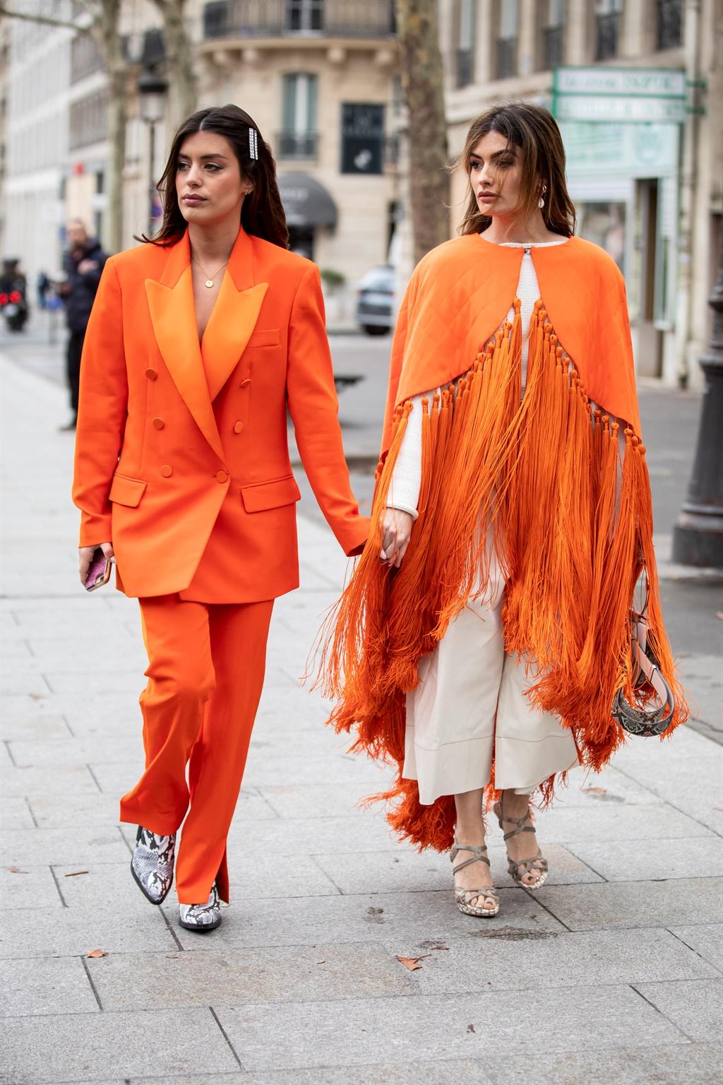 PARIS, FRANCE - MARCH 02: Aida Domenech, wearing a