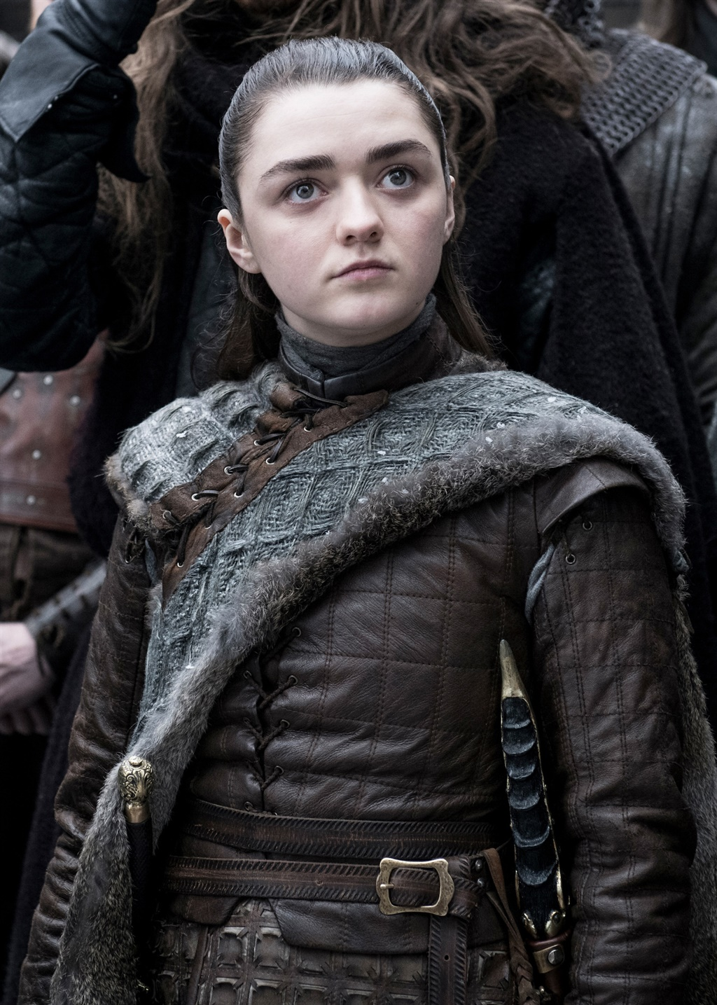 Maisie Williams (22) was net 13 toe sy stof in die
