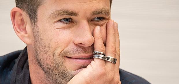 Chris Hemsworth at the 'Avengers: Endgame' Press C