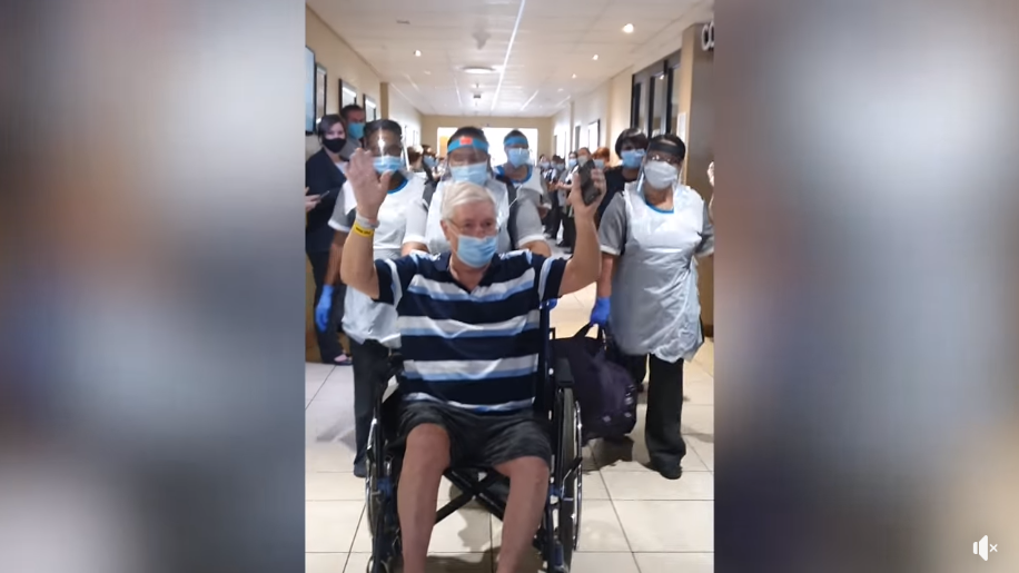 'You've been very good to me' - cheers, tears as Cape Town coronavirus patient is discharged - News24