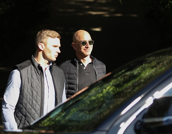 LOS ANGELES, CA - FEBRUARY 23: Jeff Bezos is seen