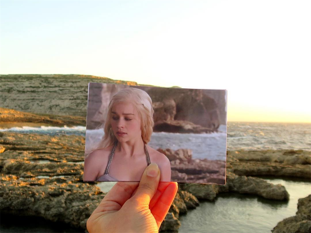 This photographer travels to match iconic 'Game of Thrones' scenes with their real-life locations