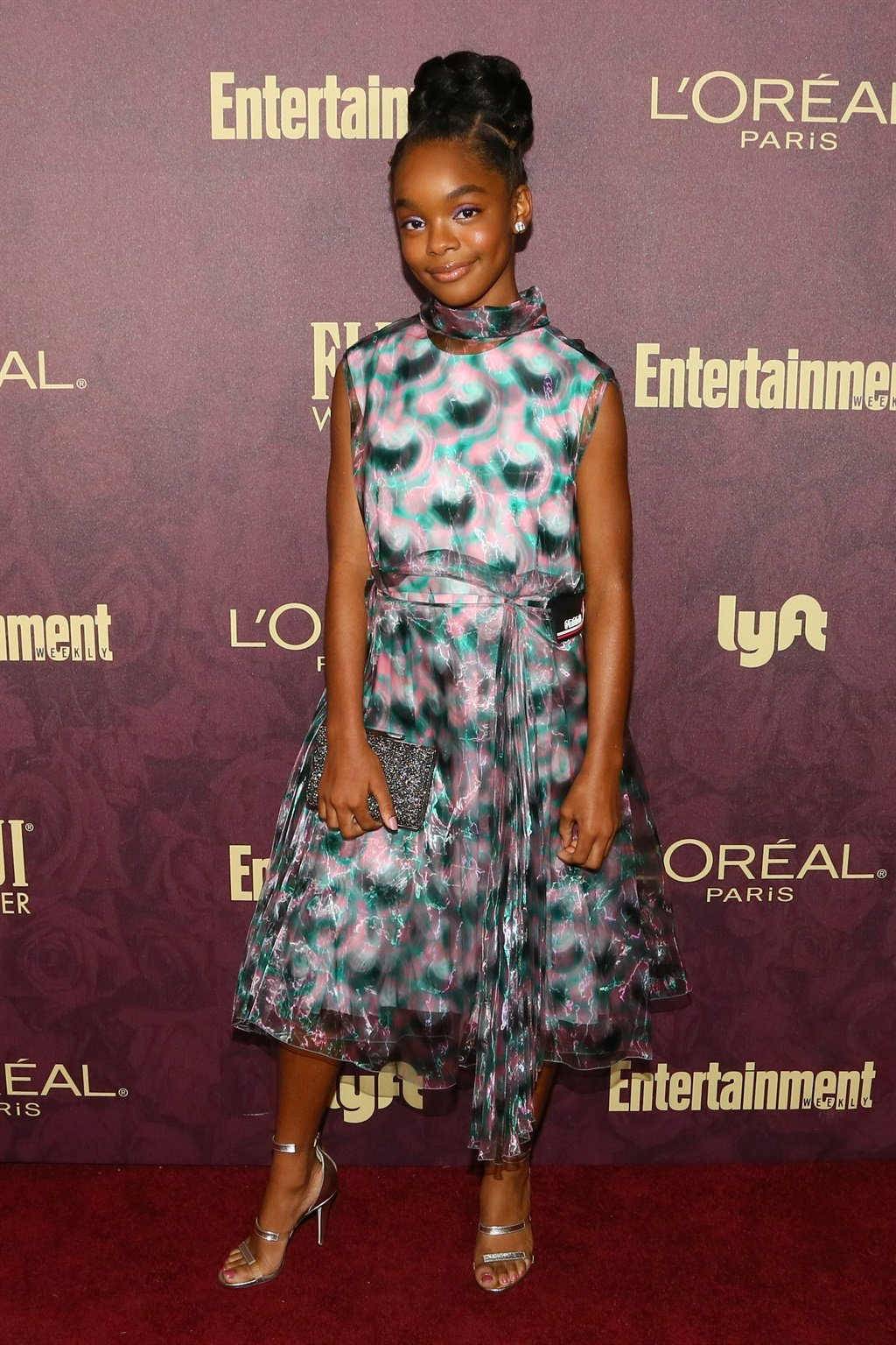 WEST HOLLYWOOD, CA - SEPTEMBER 15: Marsai Martin