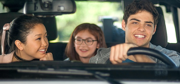 Lana Condor, Anna Cathcart and Noah Centineo in 'To All the Boys I've Loved Before.' (Netflix)