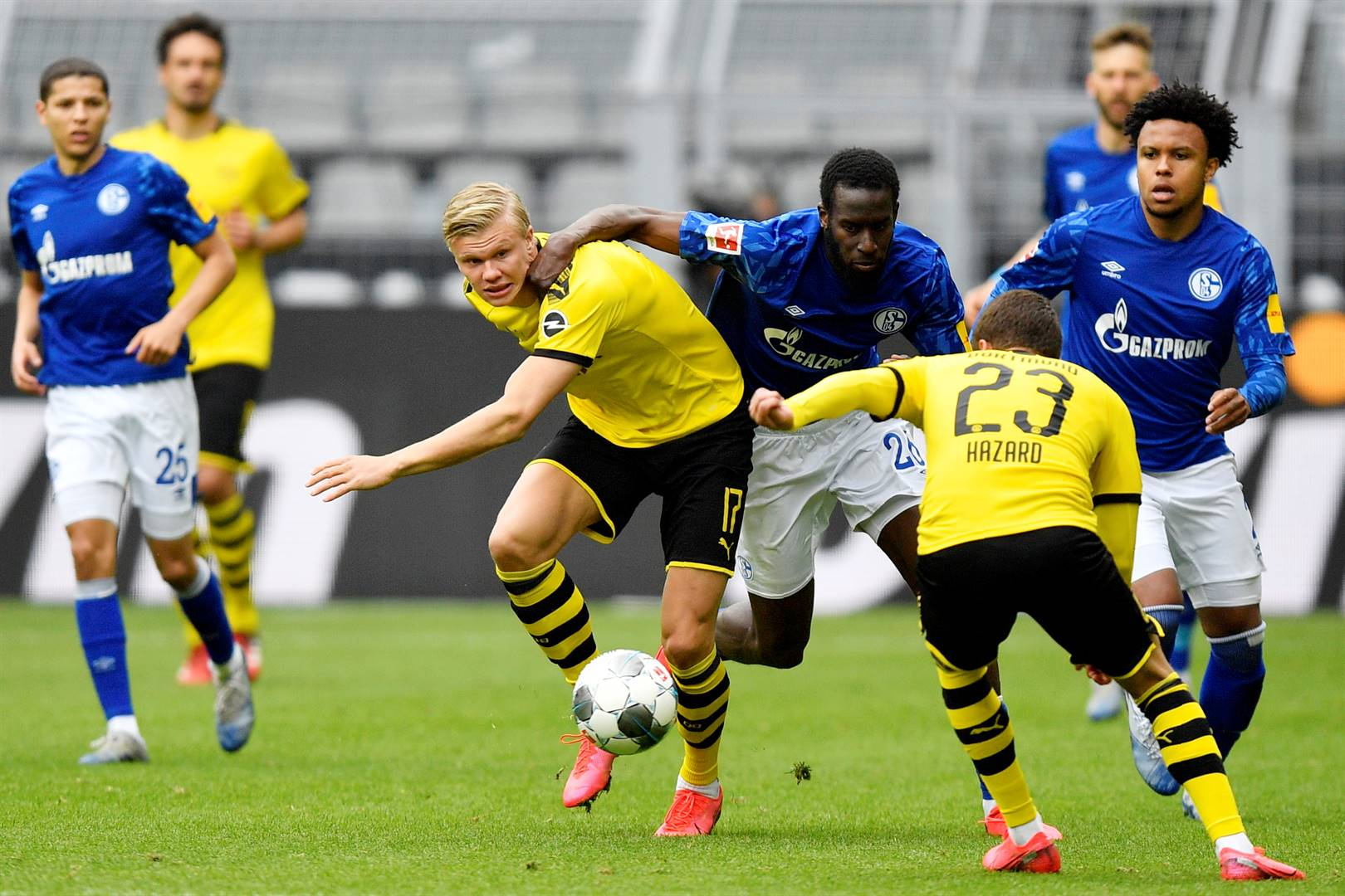 Teenage striker Erling Braut Håland has become an instant hit at  Borussia Dortmund.                                           Picture: Reuters