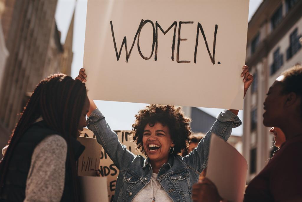 Woman at Heineken protest sex for job standard pra