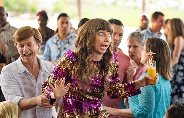 David Spade and Lauren Lapkus in 'The Wrong Missy.' (Katrina Marcinowski/Netflix)