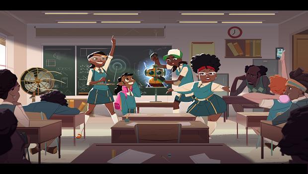 Animation, women, Mama K's Team 4