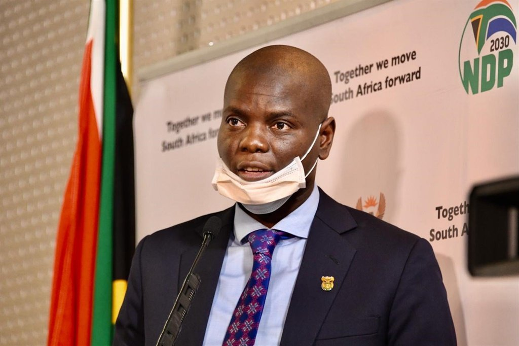 Minister of Justice and Correctional Development, Ronald Lamola.