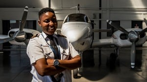 Boitumelo Katisi, the young pilot from Soweto will spend her birthday hosting a career day for learners who dream of working in aviation