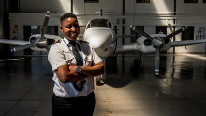 Boitumelo Katisi, the young pilot from Soweto will spend her