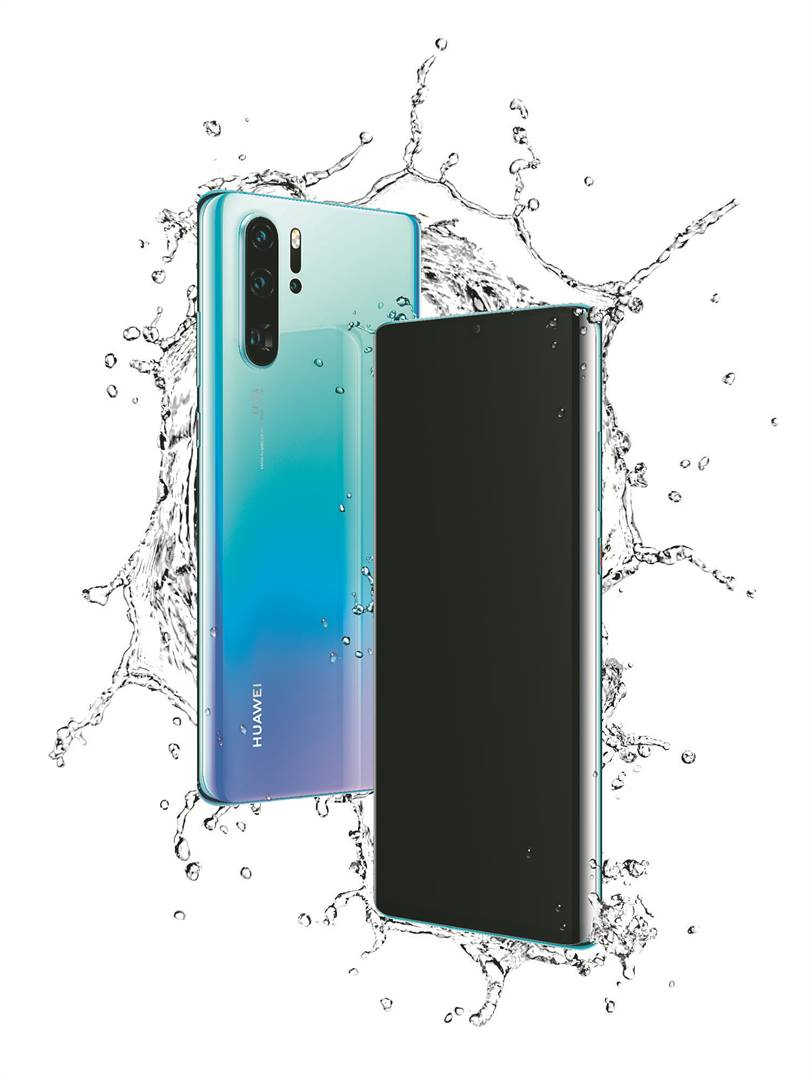 The P30 Pro with its a 16.4cm curved OLED display. Picture: Supplied