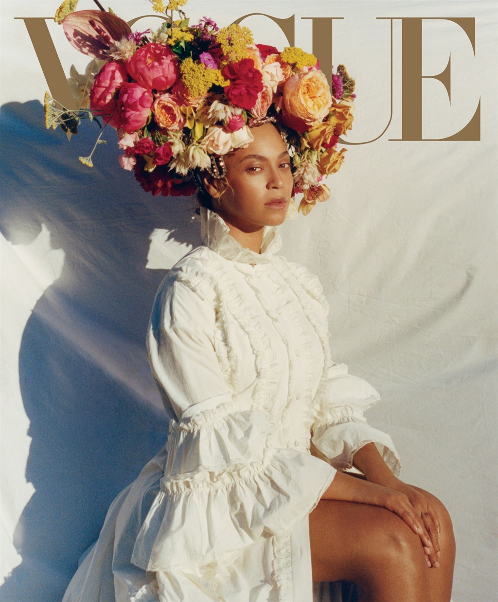 The iconic Vogue cover Sir John did Beyoncé's make