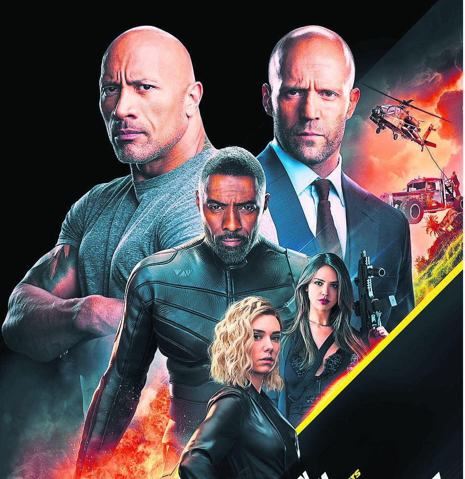 Fast & Furious: Hobbs & Shaw is now showing at Ster-Kinekor.