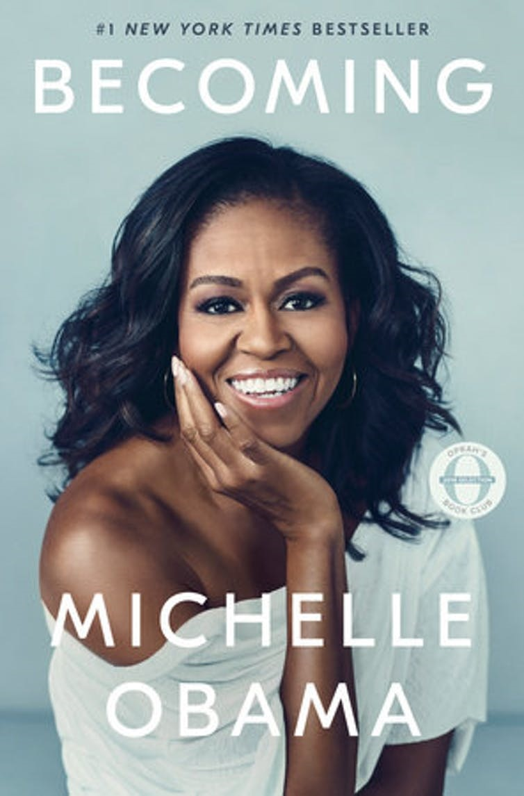 Michelle Obama is a surprise textbook example of h