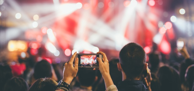 Capture your festival highlights like a pro with these phonetography tips. (Image: iStock)